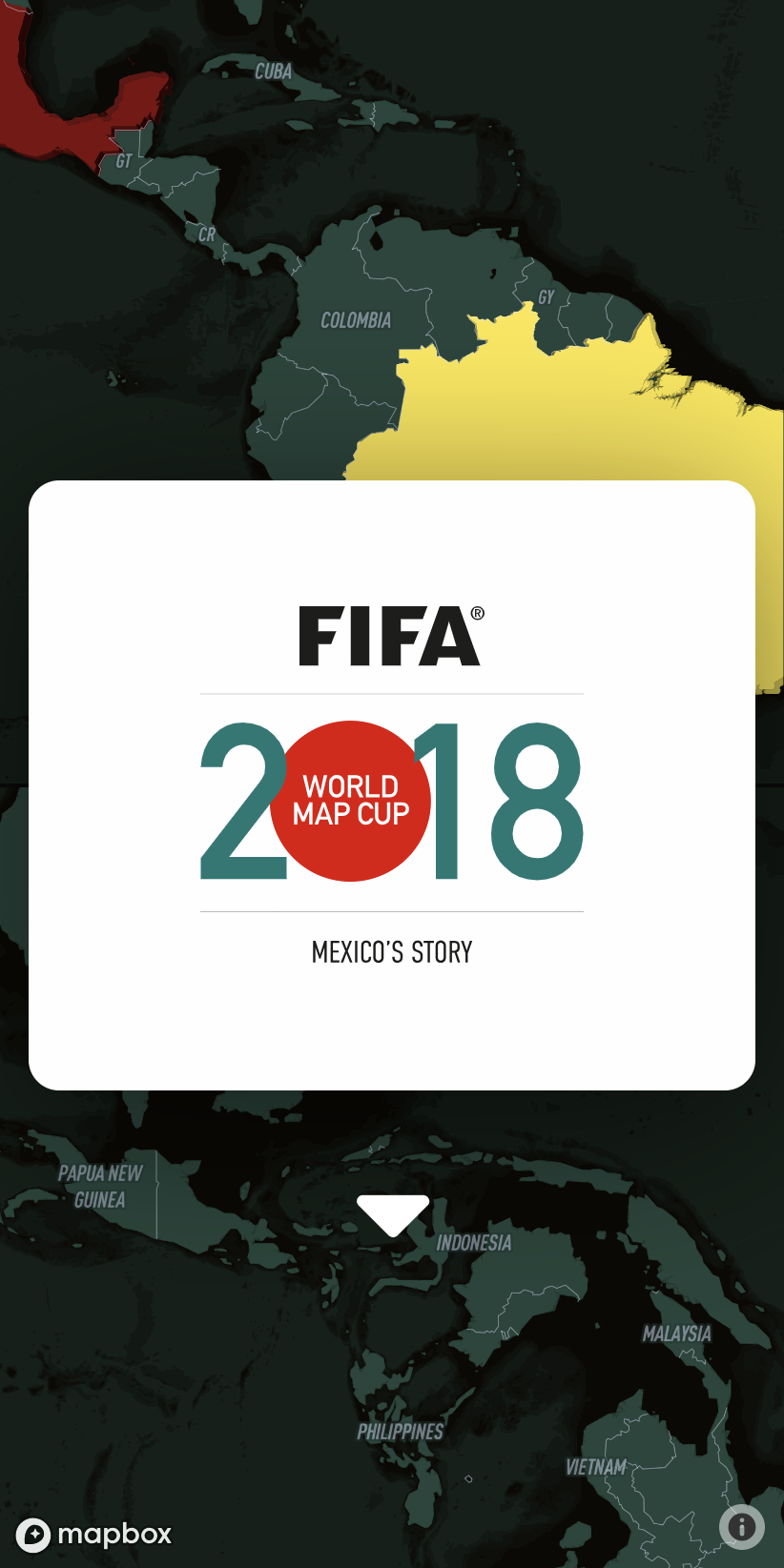 Web Project—Mapbox 2018 World Map Cup Challenge | Gustavo